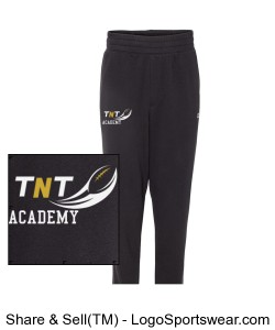 TNT Academy Champion- Authentic Originals Men's Sueded Fleece Jogger Design Zoom