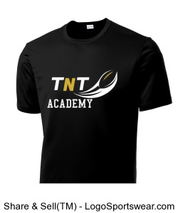 TNT Academy Performance Short Sleeve Tee Design Zoom