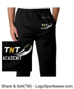 TNT Academy Champion Sweats Design Zoom